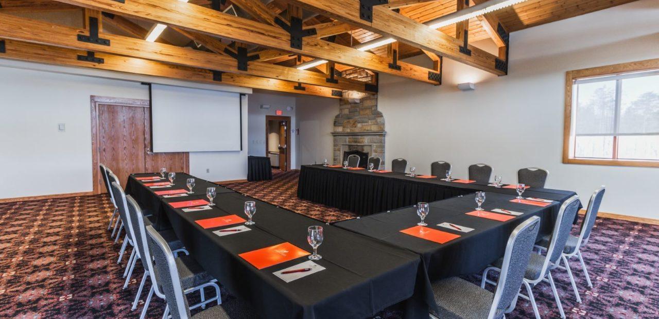 Executive conference room interior