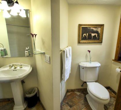 Estate room bathroom interior